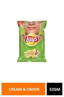 Lay`s Cream & Onion 52 gm