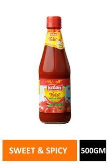 Kissan Sweet & Spicy Ketchup 500ml