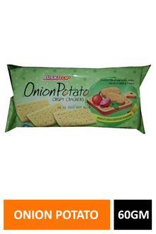 Biskitop Onion Potato Crackers 60gm