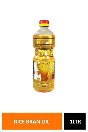 Patanjali Rice Bran Oil Pet 1ltr