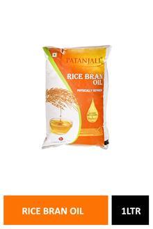 Patanjali Rice Bran Oil 1ltr