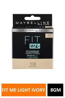 Loreal Fit Me 109light Ivory 8gm