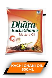 Dhara Kachi Ghani Oil 500ml