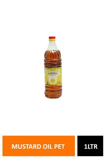 Patanjali Mustard Oil Pet 1ltr