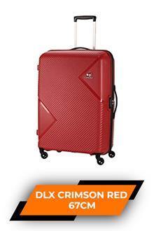 Kam Waikiki Dlx Crimson Red Trolley Bag 67cm