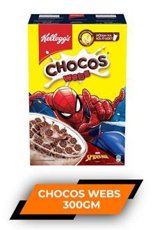 Kelloggs Chocos Webs 300gm