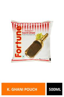 Fortune Pure Mustard Oil Pouch 500ml