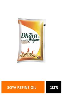 Dhara Soya Refine Oil 1ltr