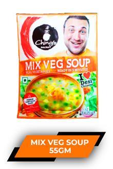 Chings Mix Veg Soup 55gm