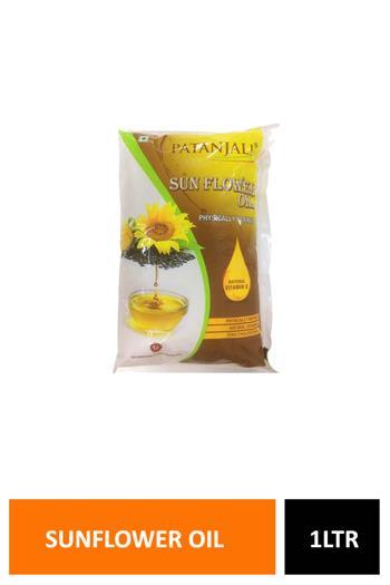 Patanjali Sunflower Oil Pouch 1ltr