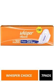 Whisper Choice 7 Pads Regular