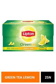 Lipton Green Tea Lemon Zest 25n