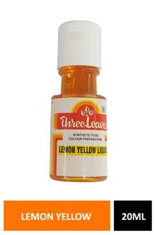 Tl Lemon Yellow Liquid Colour 20ml
