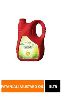 Patanjali Mustard Oil 5ltr