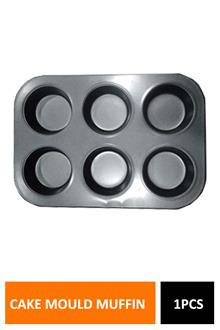 Cake Mould Muffin 6pcs