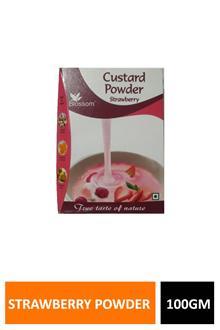 Blossom Custard Powder Strawberry 100gm