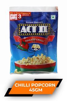 Act Ii Tomato Chilli Popcorn 45gm