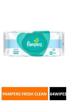 Pampers F Clean 64 Wipes