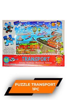 Oly 64pcs Floor Puzzle Transport