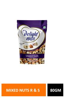 D Nuts Mixed R & Salted 80gm