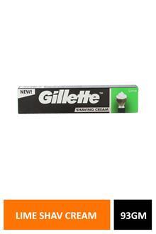 Gillette Lime Shav Cream 93gm