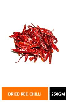 Dried Red Chilli 250gm