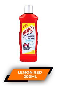 Harpic Bathroom Cleaner Lemon Red 200ml