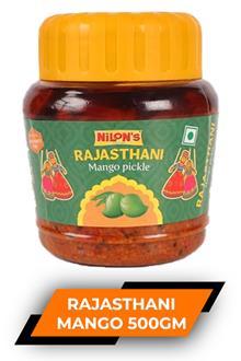 Nilons Rajasthani Mango Pickle 500gm