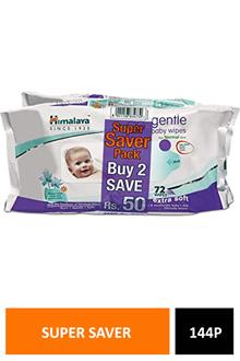 Himalaya Baby Wipes 72n X 2