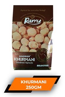 Ramu Dry Apricot (khurmani) 250gm