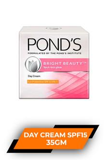 Ponds Bright Beauty Day Cream Spf15 35gm