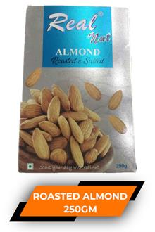 Real Roasted Almonds 250gm