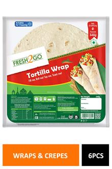 Fresh2go Tortilla Wrap 6pcs