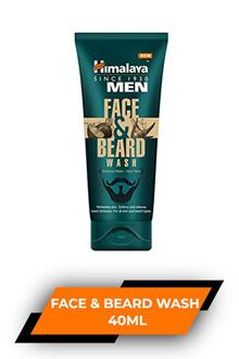 Himalaya Men Face & Beard Wash 40ml