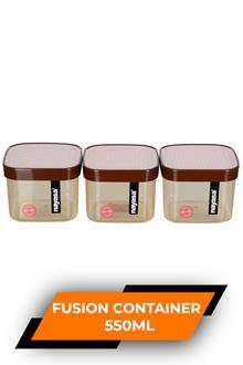 Nayasa Fusion Container 550ml Set Of 3