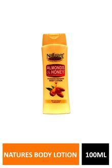 Natures Almond & Honey Body Lotion 100ml