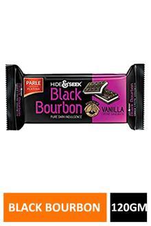 Parle Black Bourbon Vanilla 120gm