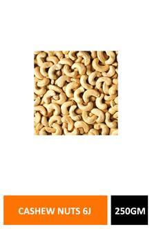 Cashew Nuts 6j 250gm