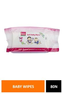 Morisons Baby Wipes 80n