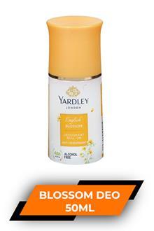 Yardley Blossom Deo Roll On 50ml