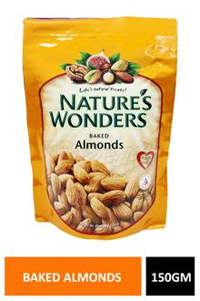Natures Baked Almonds 150gm