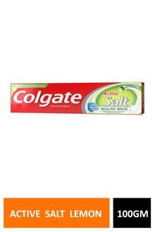 Colgate Active Salt Lemon 100gm