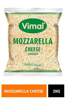 Vimal Shredded Mozzarella Cheese 2kg
