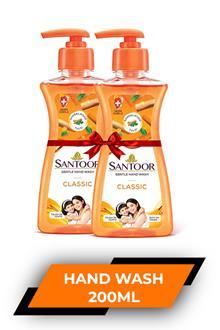 Santoor Classic H/w 200ml Buy 1 Get 1