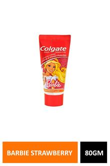 Colgate Barbie Strawberry 80gm