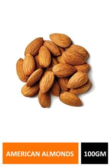 Almonds American 100gm