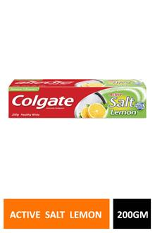 Colgate Active Salt Lemon 200gm