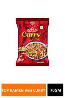 Nissin Top Ramen Veg Curry 70gm