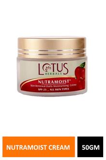 Lotus Nutramoist Creme 50gm