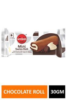 Winkies Swiss Roll Chocolate 30gm